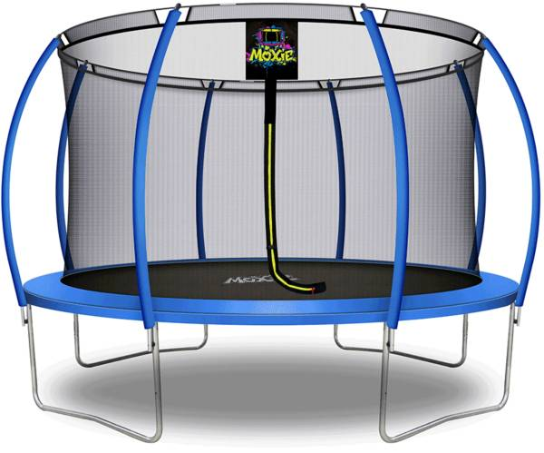 Upper Bounce 12' Pumpkin-Shaped Trampoline Set with Enclosure product image
