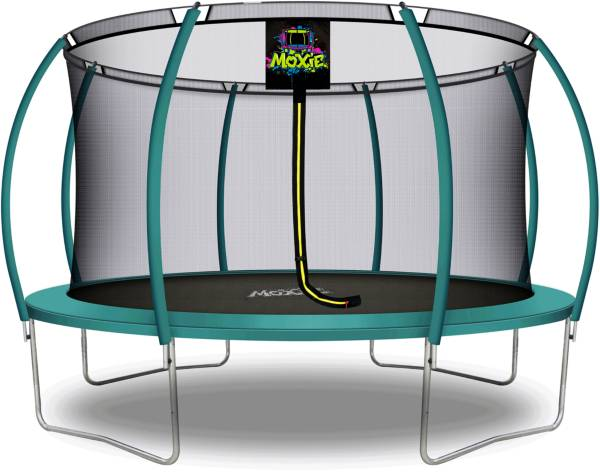 Upper Bounce 14' Pumpkin-Shaped Trampoline Set with Enclosure product image