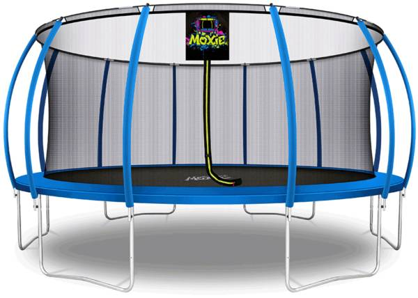 Upper Bounce 16' Pumpkin-Shaped Trampoline Set with Enclosure product image