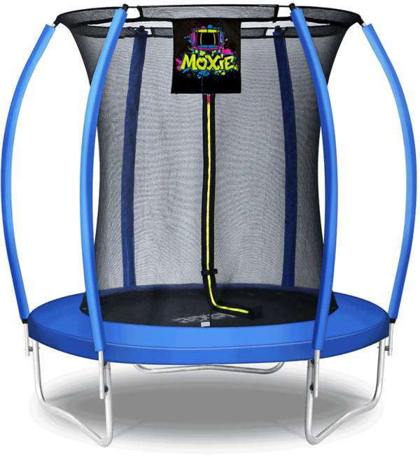 Upper Bounce 6' Pumpkin-Shaped Trampoline Set with Enclosure product image
