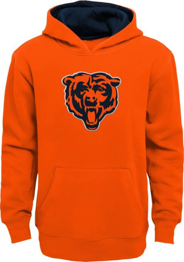 NFL Team Apparel Little Boys' Chicago Bears Orange Prime Pullover Hoodie product image