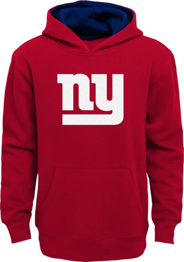NFL Team Apparel Little Boys' New York Giants Red Prime Pullover Hoodie product image