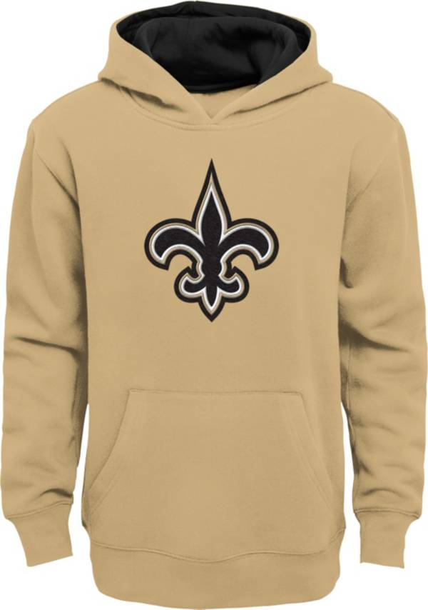 NFL Team Apparel Little Boys' New Orleans Saints Gold Prime Pullover Hoodie product image