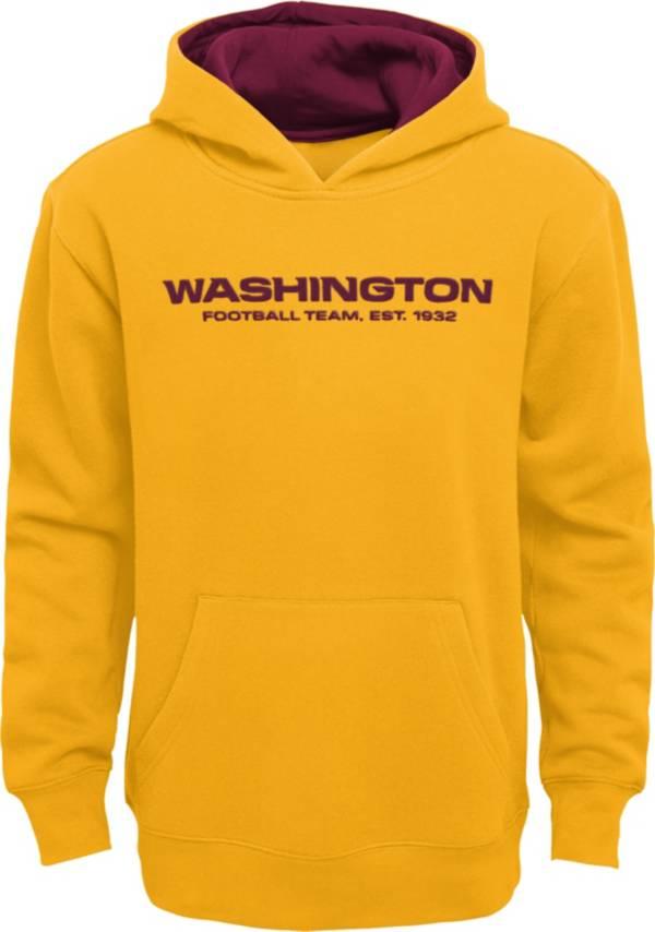 NFL Team Apparel Little Boys' Washington Football Team Gold Prime Pullover Hoodie product image