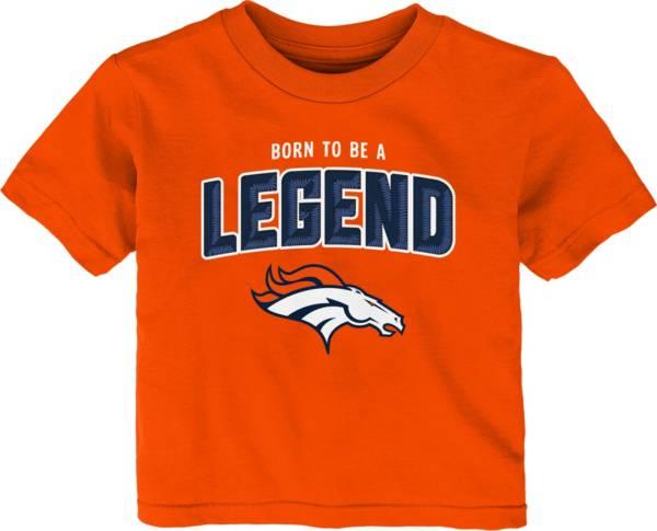 NFL Team Apparel Infant's Denver Broncos Orange Born 2 Be T-Shirt product image
