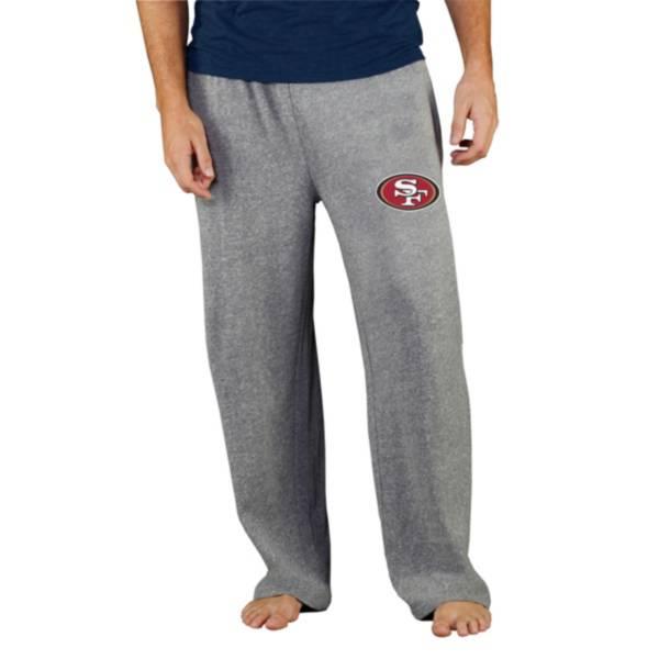 Concepts Sport Men's San Francisco 49ers Grey Mainstream Pants product image