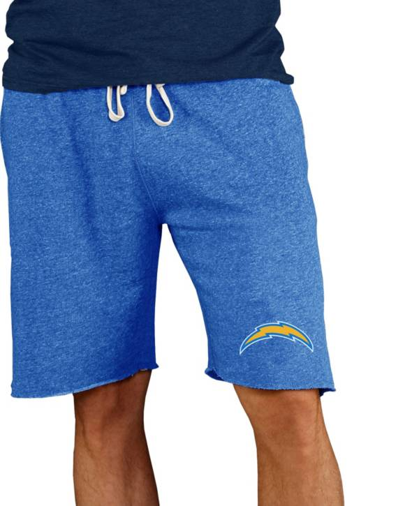 NFL Team Apparel Men's Los Angeles Chargers Royal Mainstream Terry Shorts product image