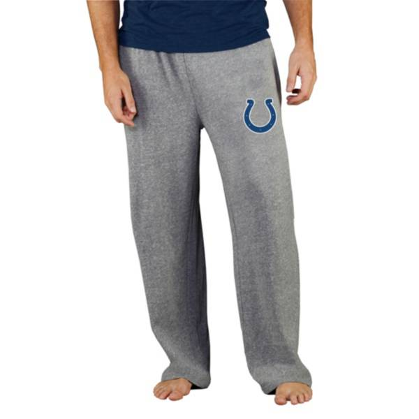 Concepts Sport Men's Indianapolis Colts Grey Mainstream Pants product image