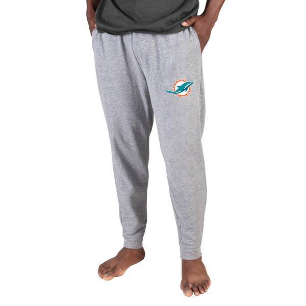 Concepts Sport Men's Miami Dolphins Grey Mainstream Cuffed Pants product image
