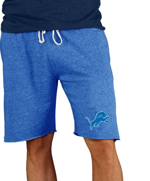 NFL Team Apparel Men's Detroit Lions Royal Mainstream Terry Shorts product image