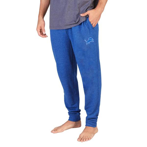 Concepts Sport Men's Detroit Lions Royal Mainstream Cuffed Pants product image