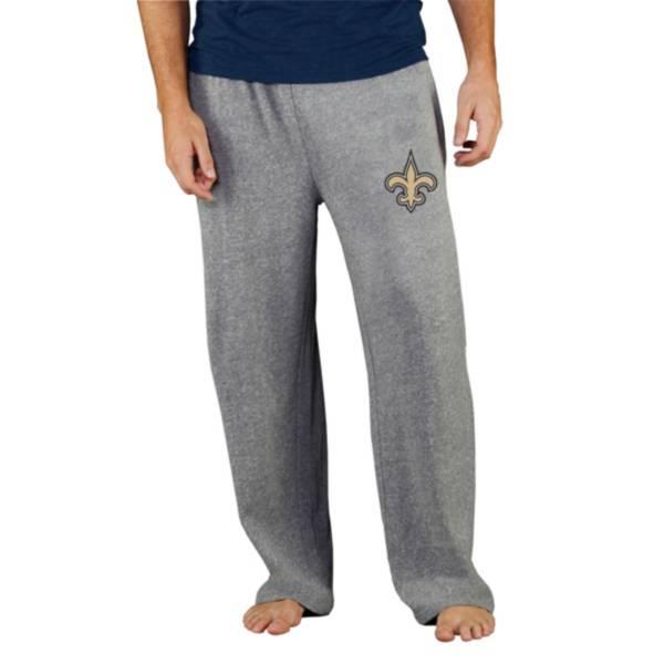 Concepts Sport Men's New Orleans Saints Grey Mainstream Pants product image