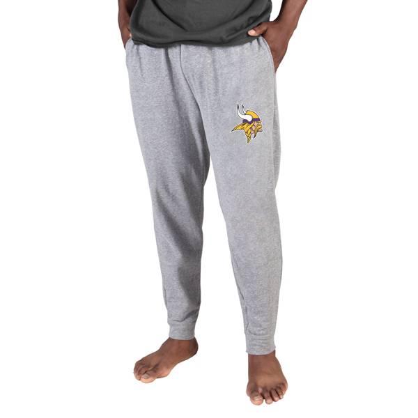 Concepts Sport Men's Minnesota Vikings Grey Mainstream Cuffed Pants product image