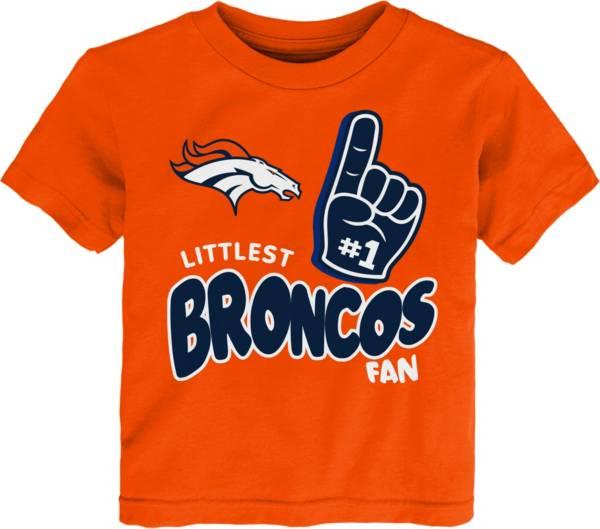 NFL Team Apparel Little Kid's Denver Broncos Orange Lil' Fan T-Shirt product image