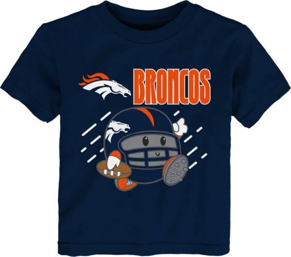 NFL Team Apparel Little Kid's Denver Broncos Navy Poki T-Shirt product image