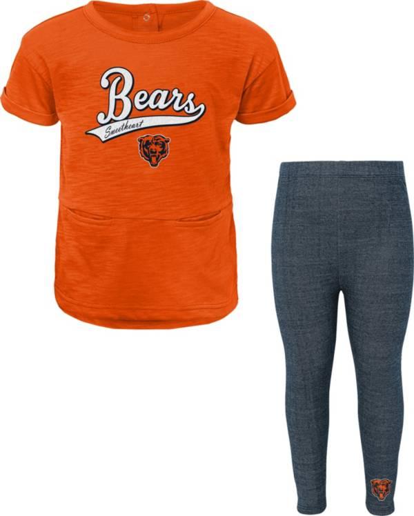 NFL Team Apparel Little Girls' Chicago Bears T-Shirt and Legging Set product image