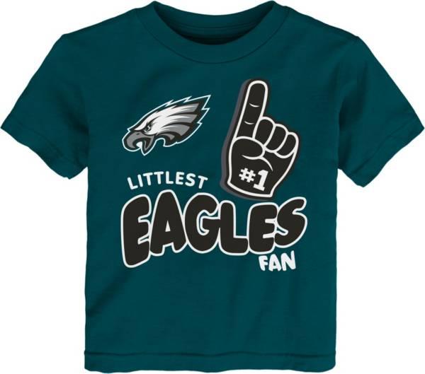 NFL Team Apparel Little Kid's Philadelphia Eagles Green Lil' Fan T-Shirt product image