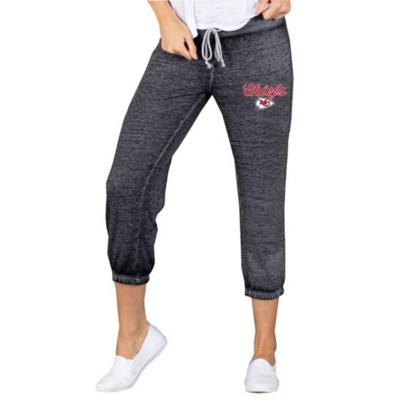 Concepts Sport Women's Kansas City Chiefs Charcoal Capri Pants product image