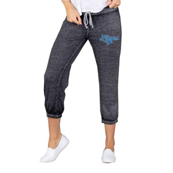 Concepts Sport Women's Detroit Lions Charcoal Capri Pants product image