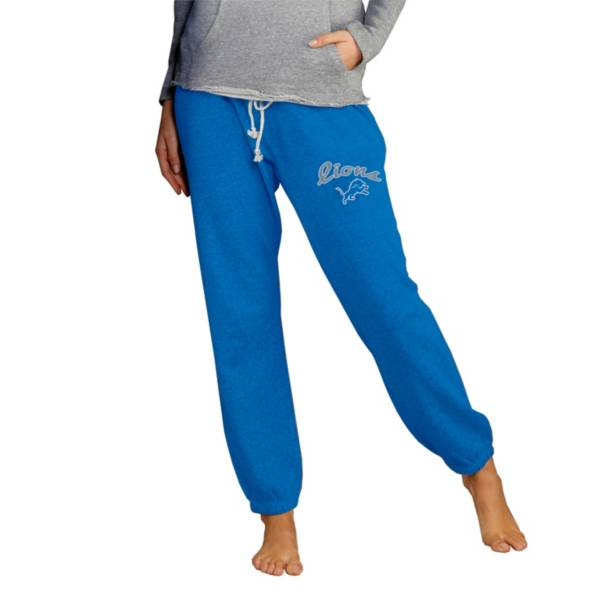 Concepts Sport Women's Detroit Lions Royal Mainstream Cuffed Pants product image