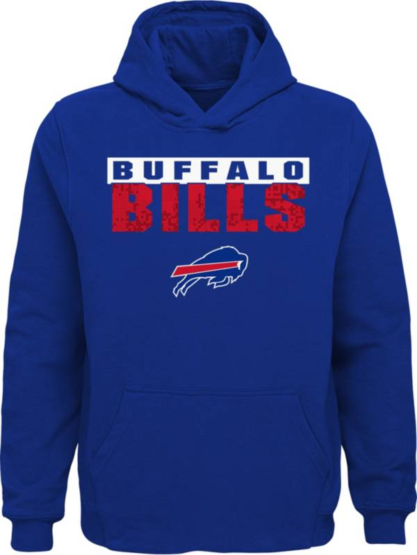 Outerstuff Youth Buffalo Bills Bar Code Royal Hoodie product image