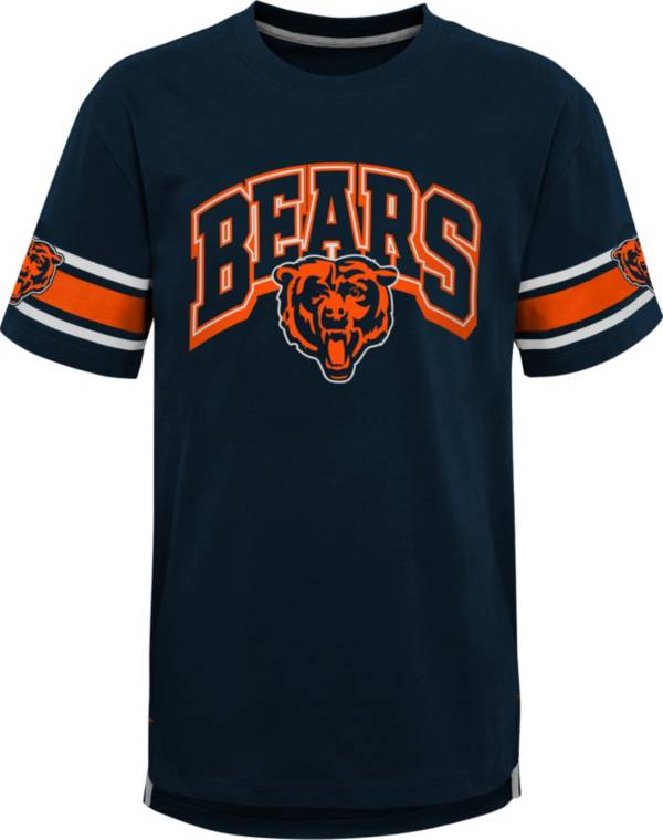 NFL Team Apparel Youth Chicago Bears Navy Victorious T-Shirt product image