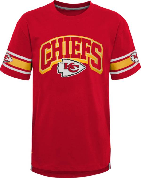 NFL Team Apparel Youth Kansas City Chiefs Red Victorious T-Shirt product image