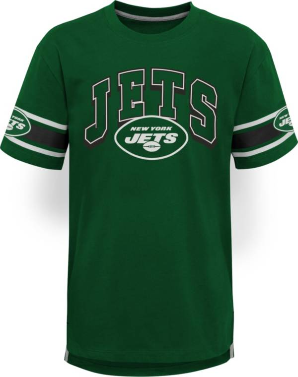 NFL Team Apparel Youth New York Jets Green Victorious T-Shirt product image