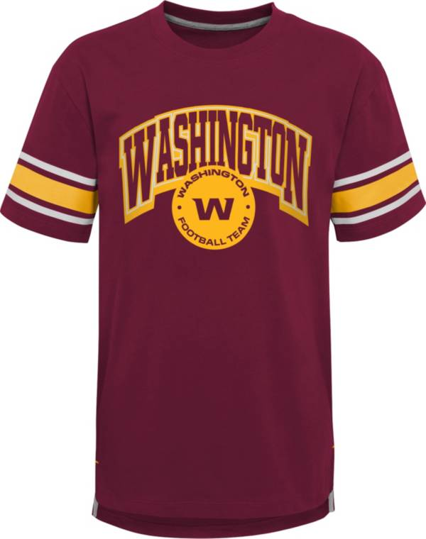 NFL Team Apparel Youth Washington Football Team Red Victorious T-Shirt product image