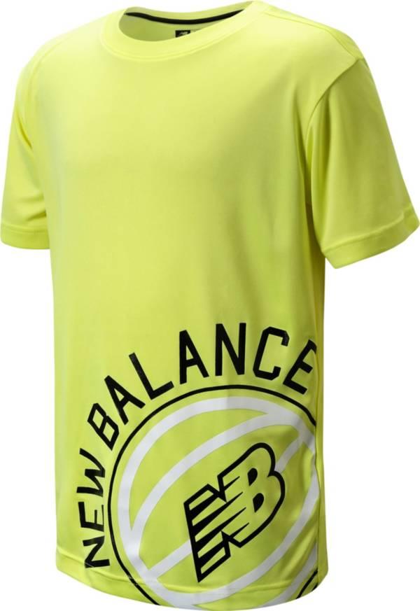 New Balance Boys' Basketball Poly T-Shirt product image