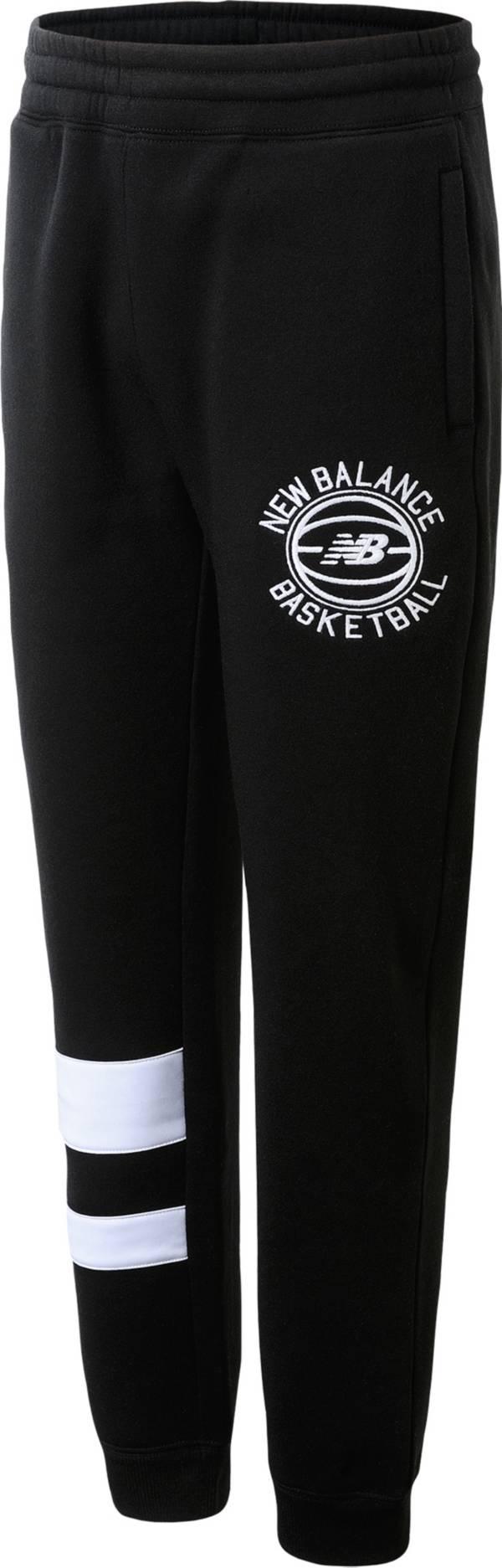 New Balance Boys' Fleece Basketball Jogger Pants product image