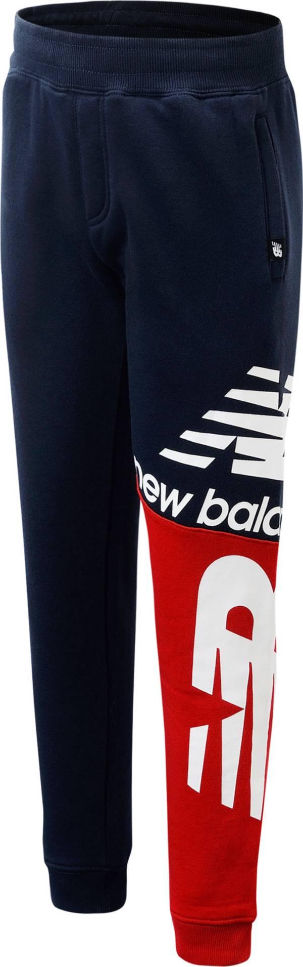 New Balance Boys' Lifestyle Fleece Jogger Pants product image