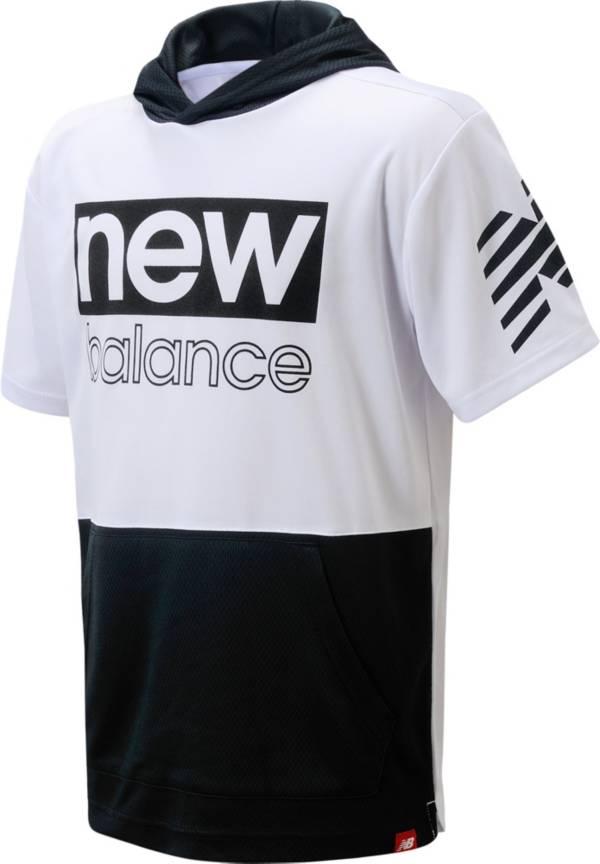 New Balance Boys' Lifestyle Short Sleeve Hooded T-Shirt product image