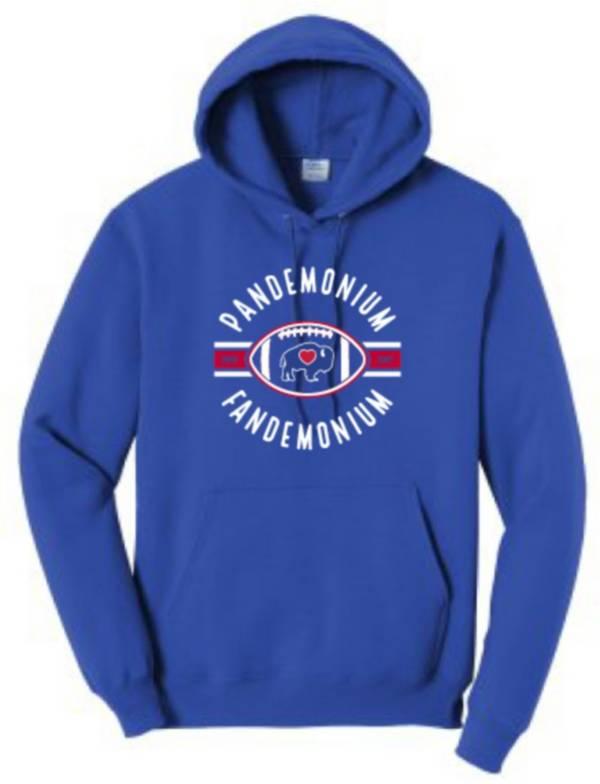 BuffaLove Men's Pandemonium/Fandemonium Blue Pullover Sweatshirt product image