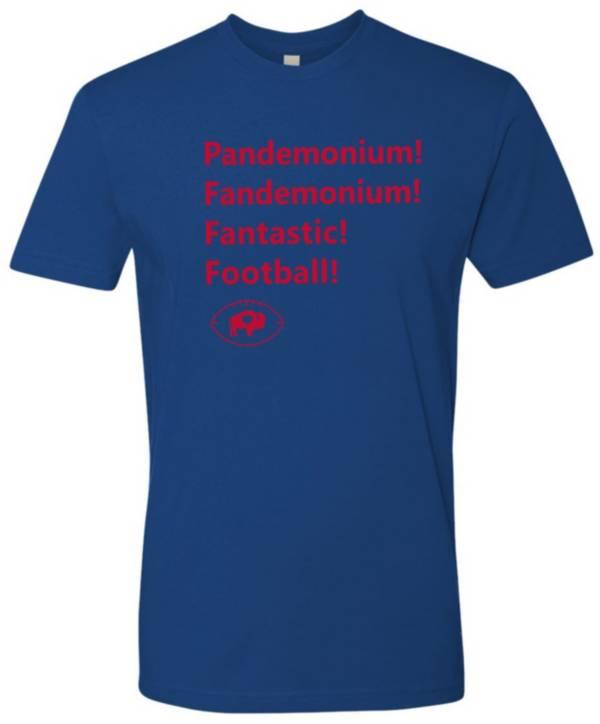 BuffaLove Men's Pandemonium/Fandemonium Blue T-Shirt product image