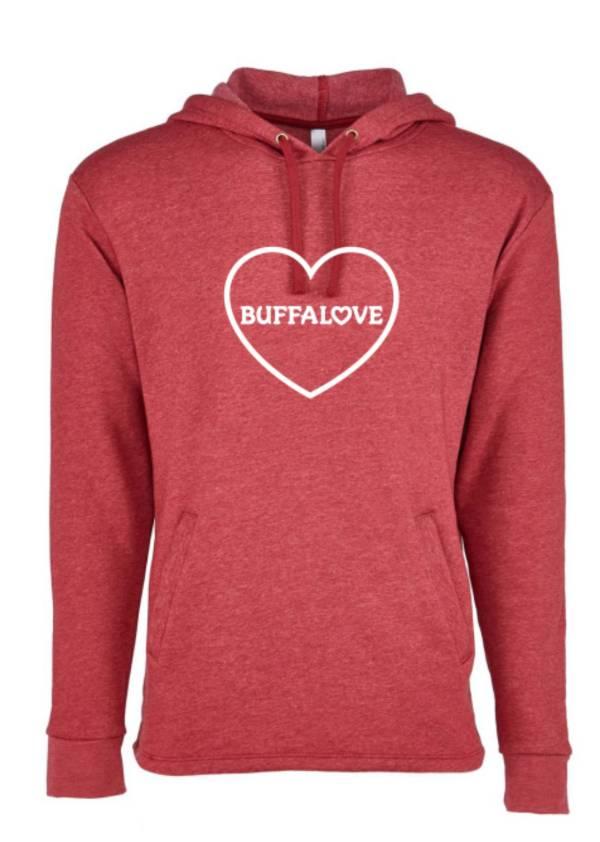 BuffaLove Women's Red Heathered Pullover Sweatshirt product image