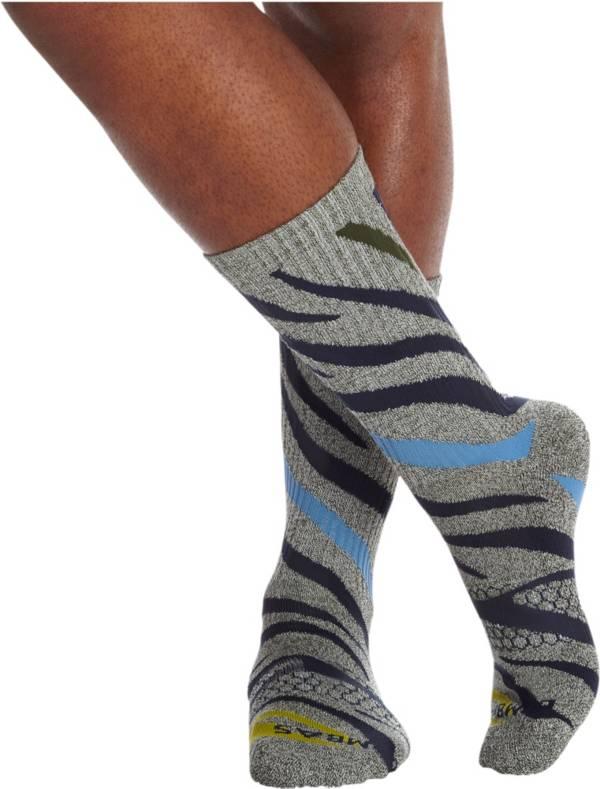 Bombas Men's All Over Zebra Calf Socks product image