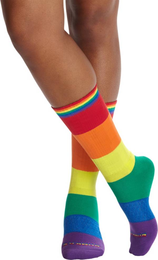 Bombas Rainbow Flag Calf Socks product image