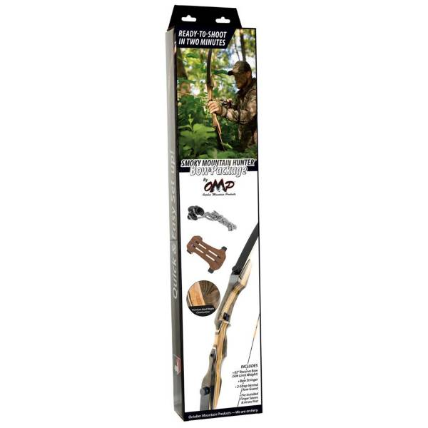 OMP Smokey Mountain Hunter Recurve Bow Package product image