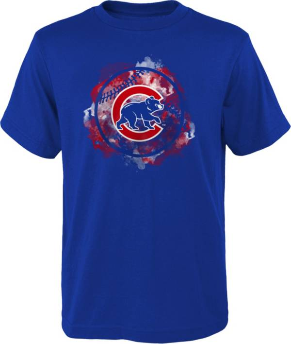 Outerstuff Youth Chicago Cubs Royal Logo T-Shirt product image