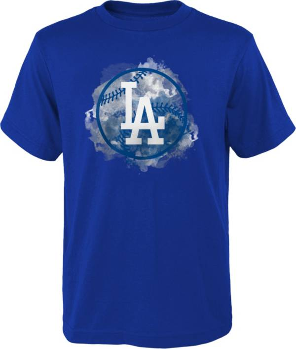 Outerstuff Youth Los Angeles Dodgers Royal Logo T-Shirt product image