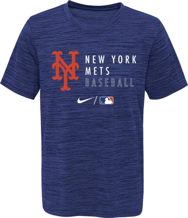 Outerstuff Youth New York Mets Velocity Blue Practice T-Shirt product image