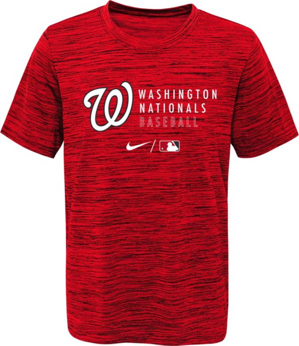 Outerstuff Youth Washington Nationals Velocity Red Practice T-Shirt product image
