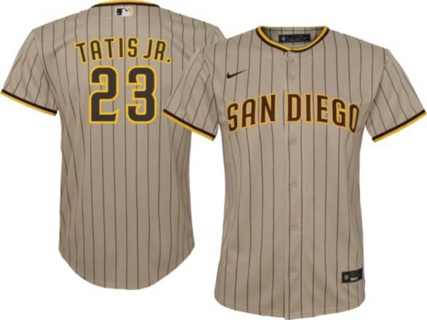 Nike Youth San Diego Padres Fernando Tatis Jr. #23 Brown Replica Jersey product image