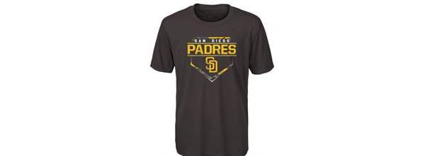 Outerstuff Youth San Diego Padres Brown Doublehead T-Shirt product image
