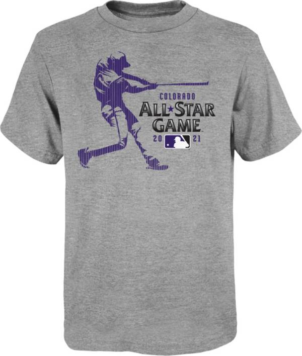Outerstuff Youth Colorado Rockies Grey 2021 All-Star Game T-Shirt product image