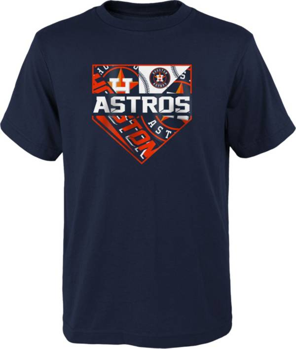 Outerstuff Youth Houston Astros Navy Logo T-Shirt product image