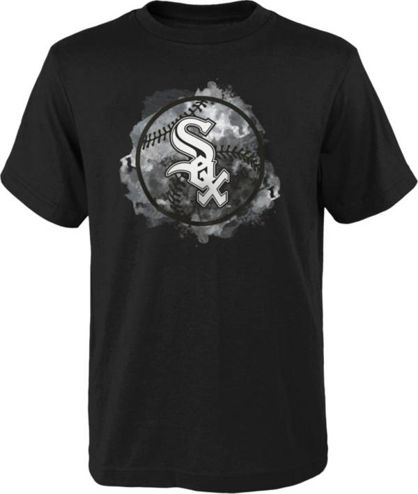 Outerstuff Youth Chicago White Sox Black Logo T-Shirt product image