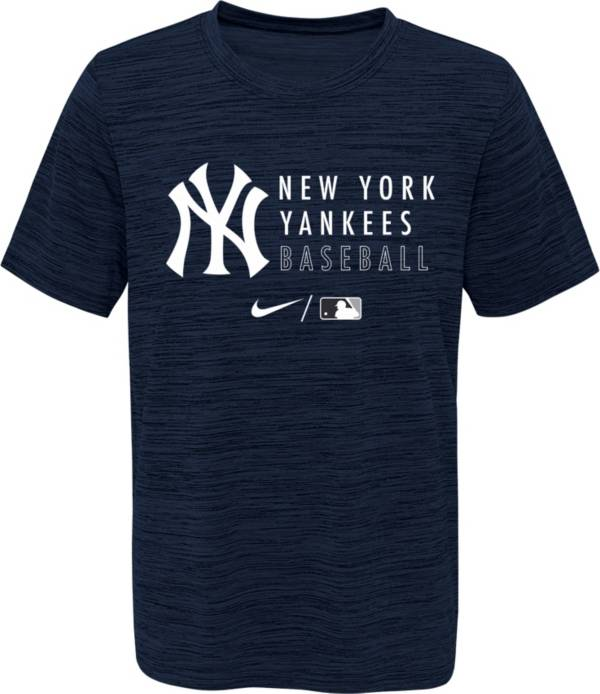 Outerstuff Youth New York Yankees Velocity Navy Practice T-Shirt product image