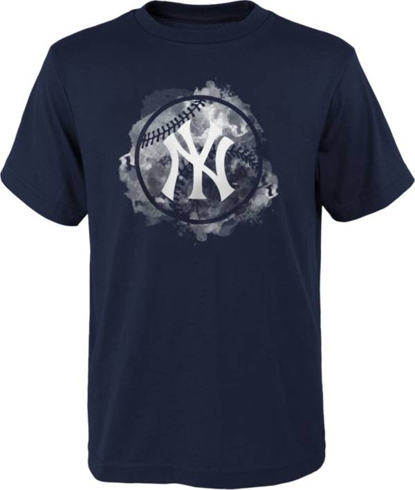 Outerstuff Youth New York Yankees Navy Logo T-Shirt product image